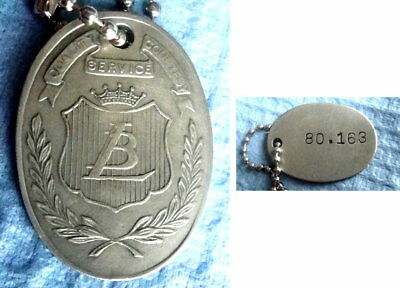 Charge Coin Tag: LIT BROTHERS Philadelphia Dept Store; Famous For Women's Hats