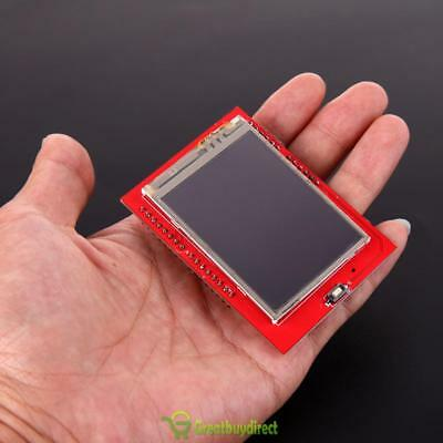 2.4 inch TFT LCD Shield Socket Touch Screen Panel Module for Arduino UNO Red UK