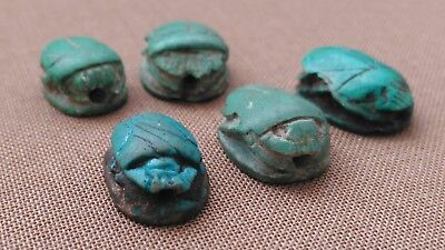 Ancient Egyptian SCARAB Beads lot
