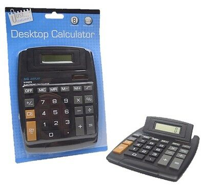 Desktop Calculator Big Large Button 8 Digit for Office School Home NEW (D11)