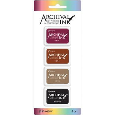 Archival Ink Mini InkPads - Set 2 - The Dark Colours