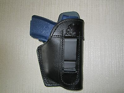KAHR PM9 & CM9 with CT laser, iwb, right hand holster WITH SWEAT SHIELD