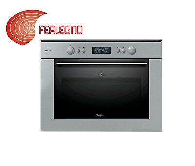 FORNO MICROONDE INCASSO Whirlpool Amw 497/ix - EUR 360,53 | PicClick FR