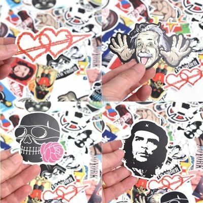 50/100/200 PCS Stickers Bomb Waterproof Graffiti Car Motor Bike Skateboard Decal