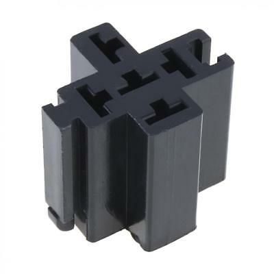 1 Set 5 Pin Car Truck Relay Socket Connector Holder 12V 6.3mm Case no Wire
