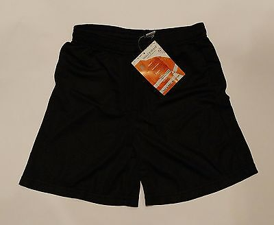 Sport-Tek Insect Shield Youth Black Athletic Sport Shorts SZ XL - NEW