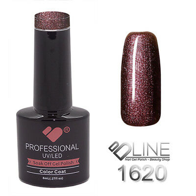 1620 VB Line Purple Chameleon Metallic - gel nail polish - super gel polish