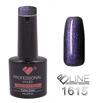 1615 VB Line Blue Chameleon Metallic - gel nail polish - super gel polish