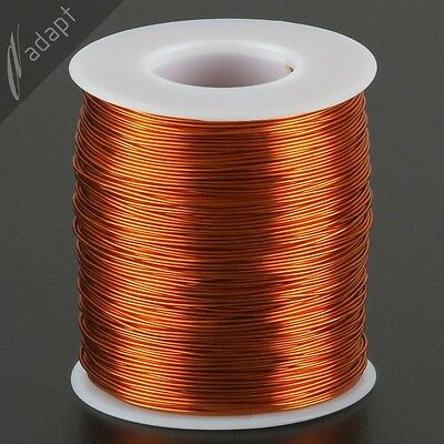 Magnet Wire, Enameled Copper, Natural, 22 AWG (gauge), 200C, ~1 lb, 500 ft
