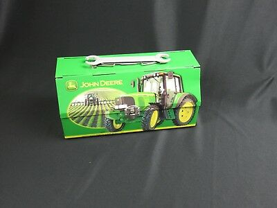 John Deere Collectable Lunch Box Metal Tin Farm Scenery Movie Prop