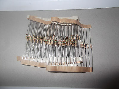 2K7 (2700 Ohm) 1/4 Watt 5% Resistors Pack of 10