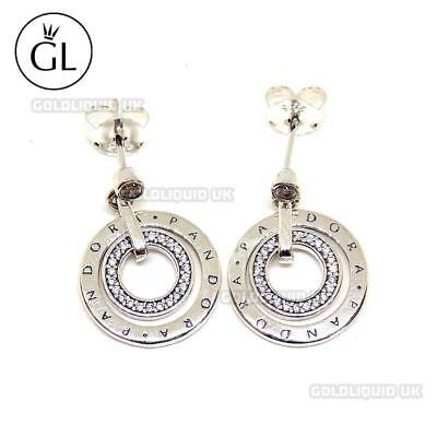 Genuine PANDORA Circles Earrings - New, Authentic in PANDORA Pouch