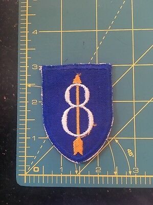 WWII US Army 8th Infantry Division Patch