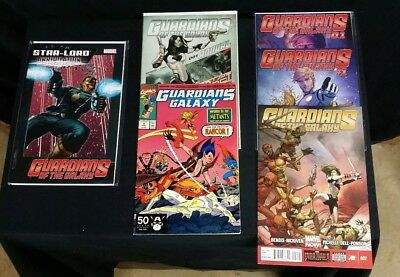Guardians of the Galaxy #9 and Annual #1 Cho/Star-Lord Annihilation Conquest