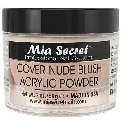 Mia Secret Cover Nude Acrylic Powder 2 oz Nail Bed Made in USA TOP SELLER NEW