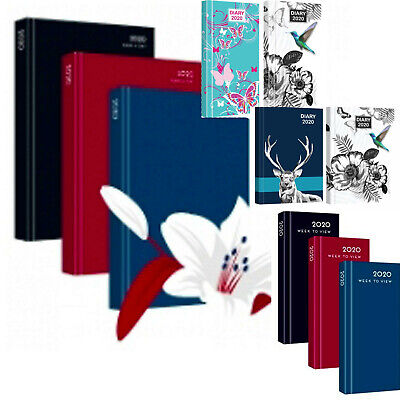 2018 Diary A4,A5,A6 Office Planner Diaries Calendar Book Day Year Journal Weekly