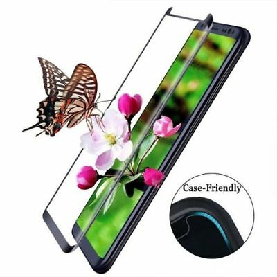 2x Case-friendly 3D Curved Tempered Glass Samsung Galaxy S7 Edge S8 S8+ Note 8