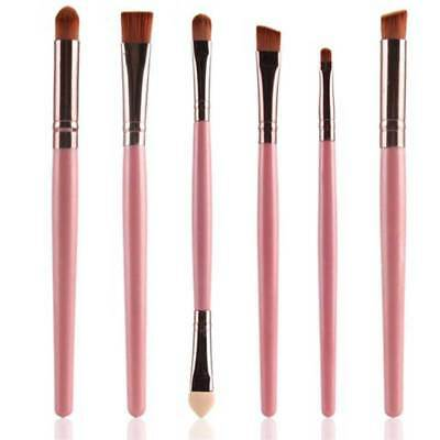 7pcs Professional Cosmetic Makeup Brushes Blending Eyeshadow Eyeliner Brush Set