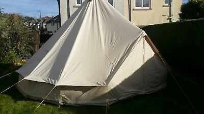 Soulpad 5000 hybrid genie belltent 5m & Soulpad Tribe 5m Tepee 12oz Canvas Tepee with optional extras ...