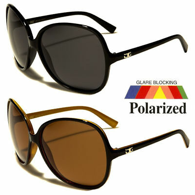 NEW Designer Vintage Oversized Womens POLARIZED Sunglasses Retro Large Shades t