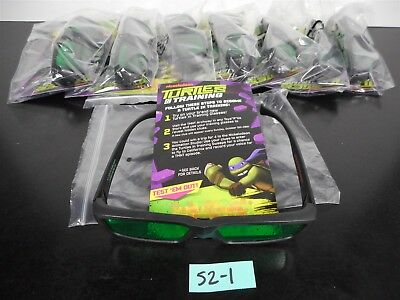 New & Unused!! 8 Turtles In Training 3D Glasses Toys R Us Exclusive Lot Of 8 521