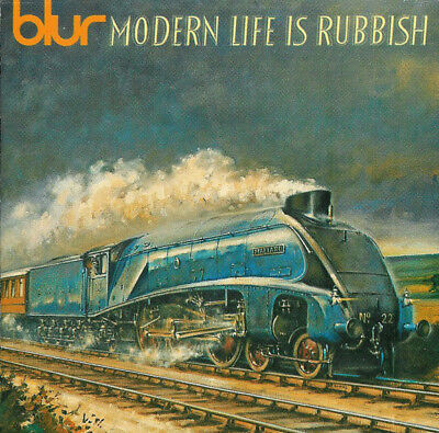 Blur ‎– Modern Life Is Rubbish CD 1993 excellent