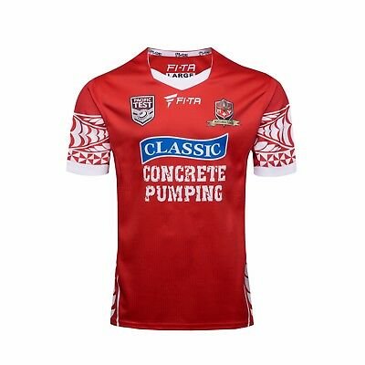 New 2017-18 Tonga Rugby Jersey Men