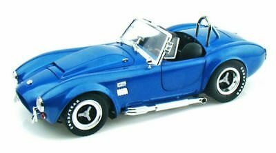 1966 Shelby Cobra Super Snake Convertible Blue Shelby SC125 1/18 Scale Diecast