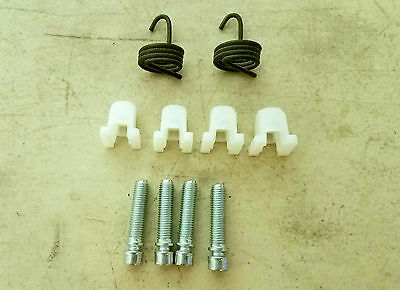 62 67 Chevy II Nova Headlight Adjuster Kit - Screw Spring Plastic Nut NEW 10pcs
