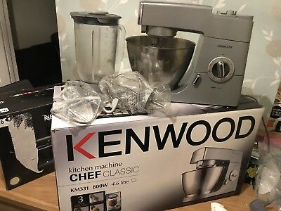 Kenwood km240si stand mixer kitchen machine prospero 34 for Kenwood cooking chef accessoire