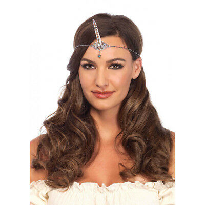 Silver Unicorn Horn Adult Costume Headband