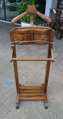 New Solid Timber Mango wood  Gentlemans Valet Clothing Stand jacket stand