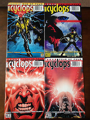 Cyclops Comic Set # 1-4 Marvel Comics X-Men Icons Brian K Vaughn (Saga)