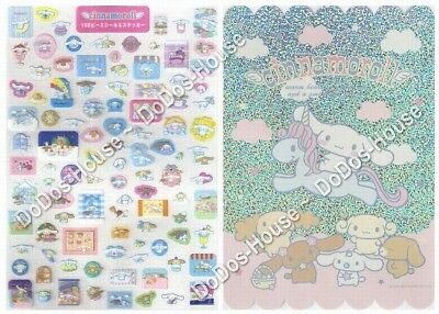 Sanrio Japan Cinnamoroll A4 Size Shine Stickers