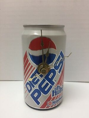 diet pepsi battery operated Desk clock In A Real Diet Pepsi can