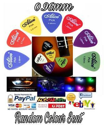 Alice Guitar Picks - Variety of colours & sizes - Celluloid - durable