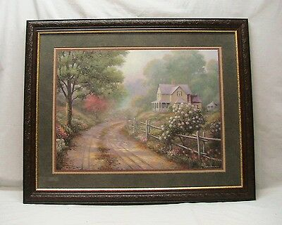 """Home Interior Homco """"Country Roads Picture (DS)"""