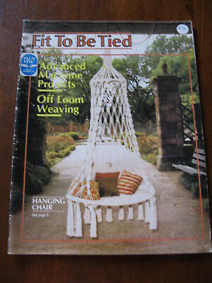 Fit to be Tied:Advanced Macrame Projects: Plus One Craft Prod 1977: : : Preloved