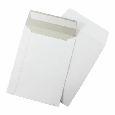 100 pcs 6 X 8 White Cardboard Mailers Self Seal Adhesive Flap CD & DVD