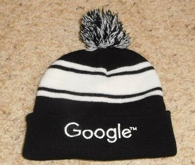 Google Beanie Pom Knit Cap Hat One Size Ship To Worldwide!!!