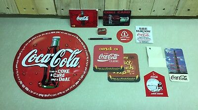 Coca Cola Coke Collectible Rare Item And Advertising Lot