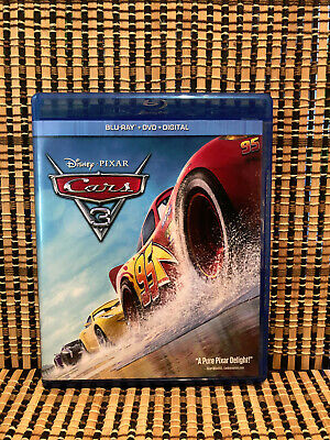 Cars 3 (2-Disc Blu-ray/DVD, 2017)Disney/Pixar-Lightning McQueen/Own Wilson