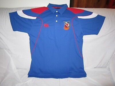 Manly Marlins Ccc Rugby Polo Shirt Size Large