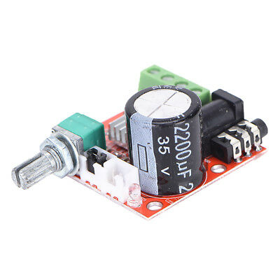 2X10W Hi-Fi PAM8610 Audio Stereo Amplifier Board Module Dual Channel 12V