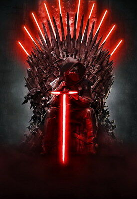"""044 Star Wars The Last Jedi - Daisy Ridley Action USA 2017 Movie 14""""x20"""" Poster"""