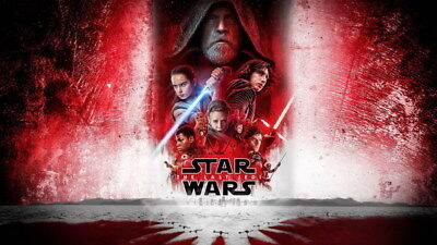 "053 Star Wars The Last Jedi - Daisy Ridley Action USA 2017 Movie 42""x24"" Poster"