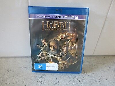 The Hobbit - The Desolation of Smaug.  Bluray & DVD only.