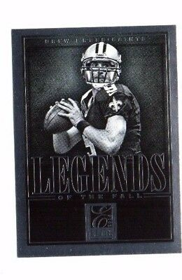 Drew Brees, 2014 Panini Elite, Legends of The Fall, (Silver) !!