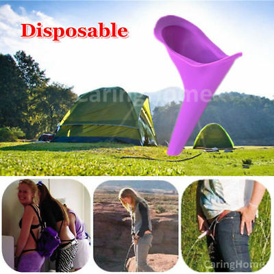 Ladies Women Urinal Portable Female Funnel Direct Urine Camping Travel Toilet UK