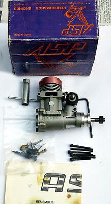 ASP 25A2 ABC Model Aircraft Aeroplane RC Glow Engine with Box & Papers